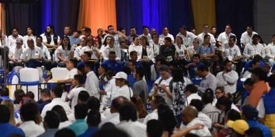 Prosperidad Ciudadana proclama a su binomio presidencial.