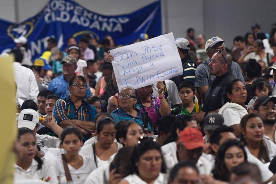 Prosperidad Ciudadana proclama a su binomio presidencial. Foto: Omar Solís