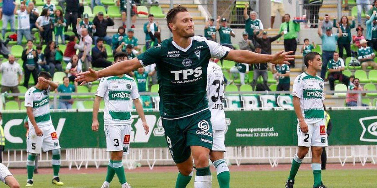 """Wanderers venció a Temuco y logró su primer triunfo en la B gracias al """"otro"""" Lanaro"""