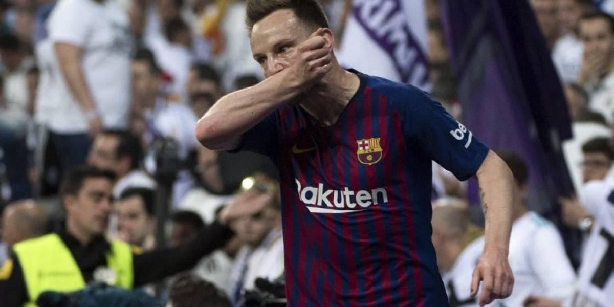 Las redes sociales explotan con el gol de Rakitic en el clásico español