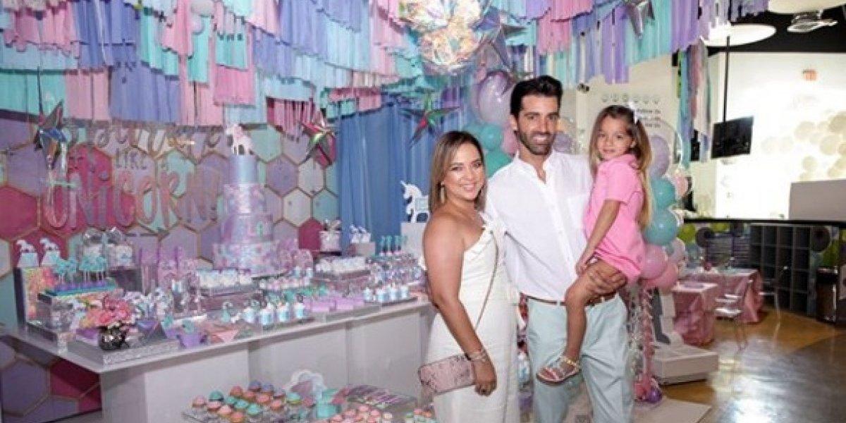 Adamari y Toni celebran en grande el cumpleaños de Alaïa
