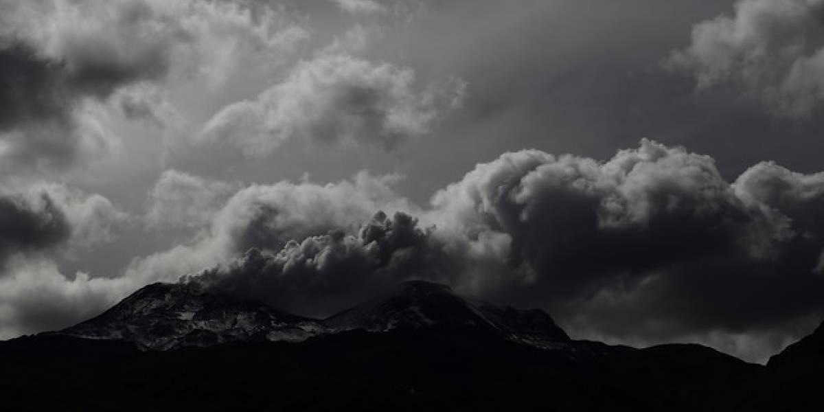 Explosiones de actividad volcánica se registran en Nevados de Chillán