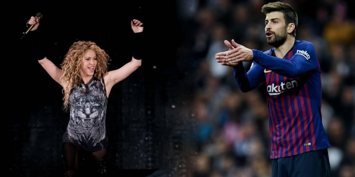 El mensaje de Shakira tras el Clásico de España
