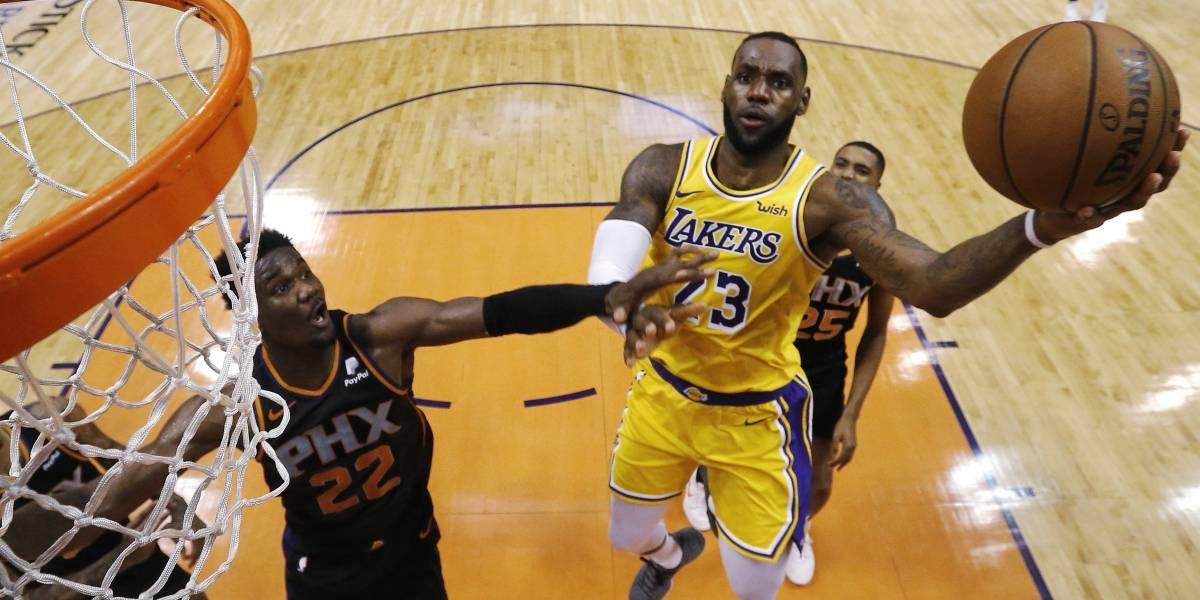 Caen los Lakers y se alejan de la postemporada