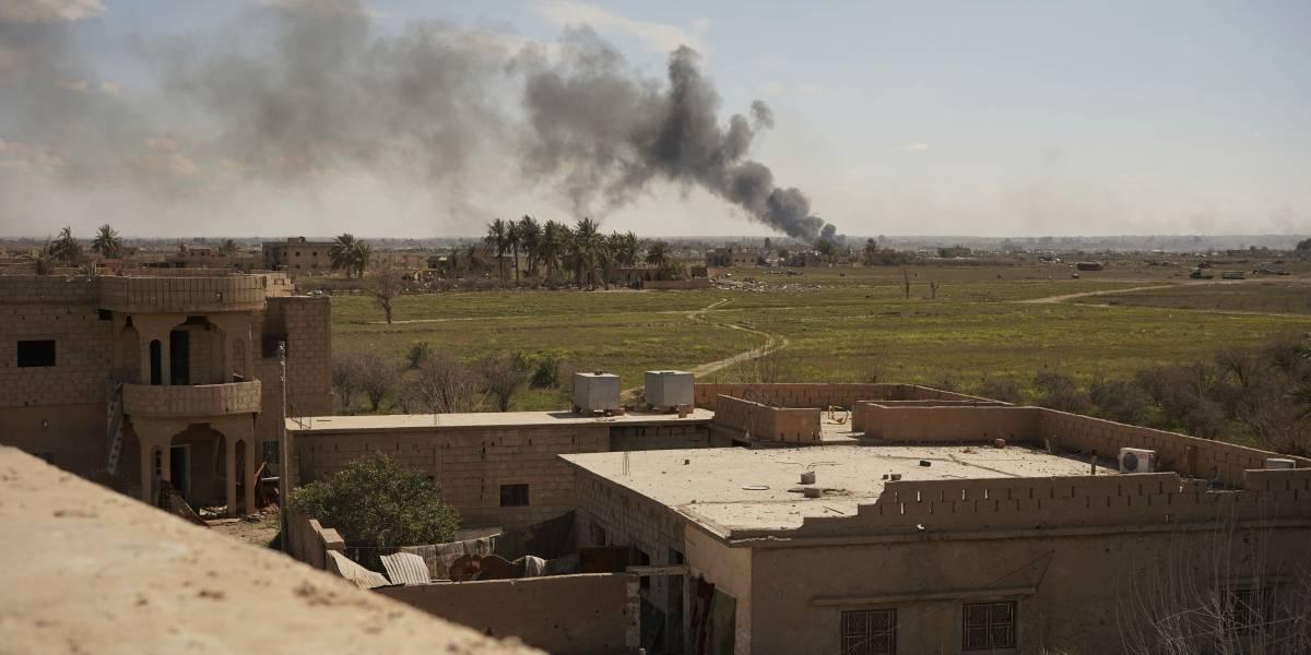 Estado Islámico se aferra a su último bastión en Siria