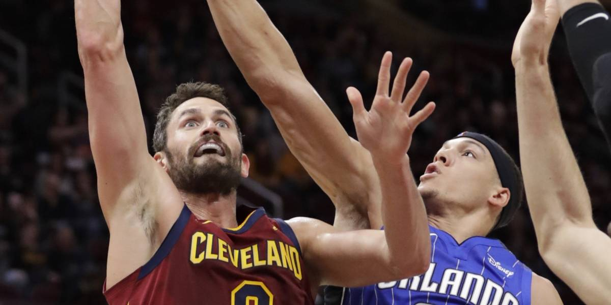 Kevin Love regresa y los Cavaliers vencen a los Magic