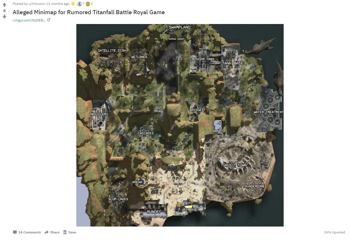 Apex Legends Mapa