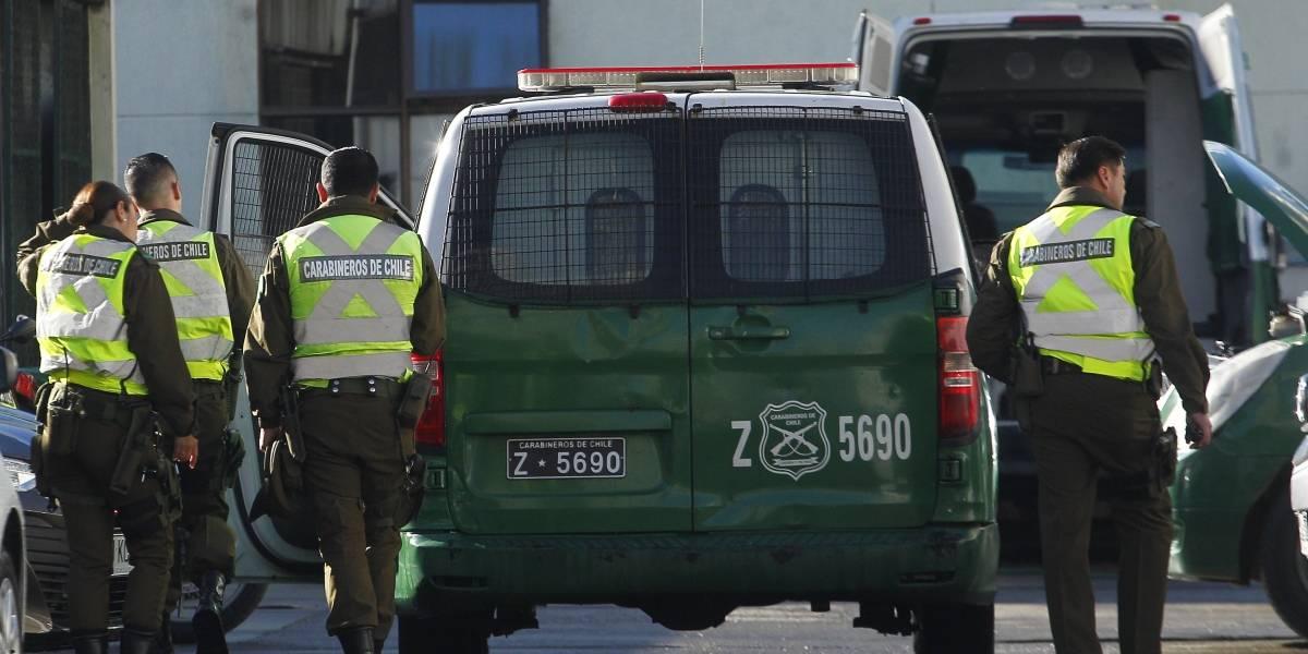 Carabinero es baleado tras evitar robo contra mujer en San Joaquín