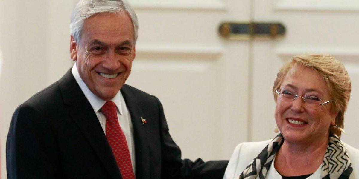 """Presidente Piñera arremete nuevamente contra Bachelet : """"Todavía no condena la dictadura de Maduro"""""""