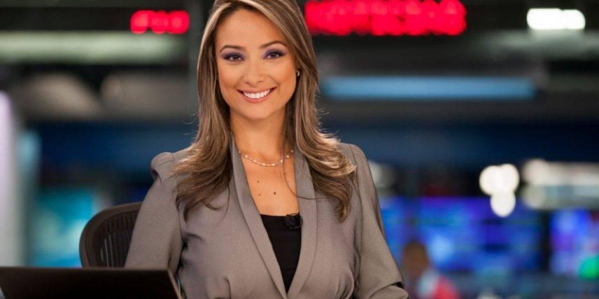 Pequeño hijo de Mónica Jaramillo se robó el show en Noticias Caracol