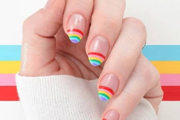 Rainbow Nails El Diseño De Uñas Más Original De La