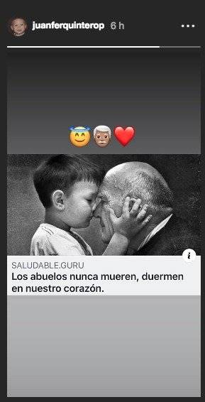 Recuerdo Quintero abuelo
