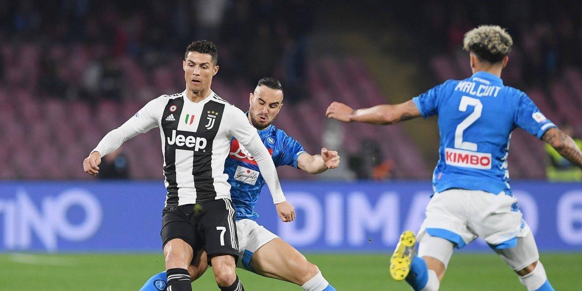 Cristiano Ronaldo y la Juve se encaminan al título tras derrotar al Napoli