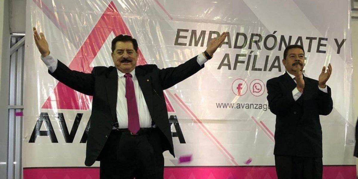 Avanza presenta a su binomio presidencial