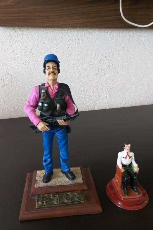 Figura de El Chapo