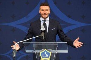 David Beckham es homenajeado por el Galaxy