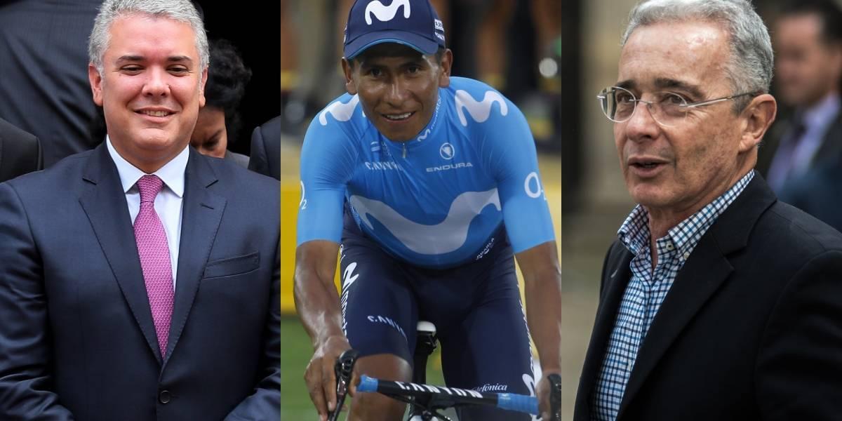 ¡Primero con Uribe y ahora con Duque! Nairo Quintana posó junto al presidente de Colombia