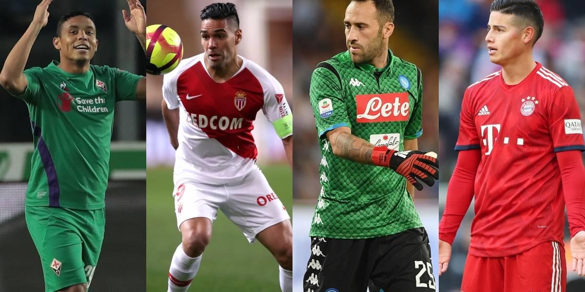Jornada llena de contrastes para los jugadores colombianos en Europa