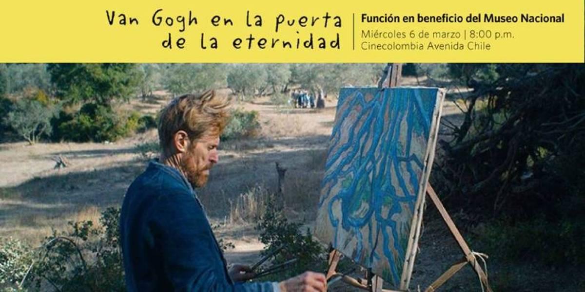 Estreno de 'Van Gogh en la puerta de la eternidad' será a beneficio del Museo Nacional