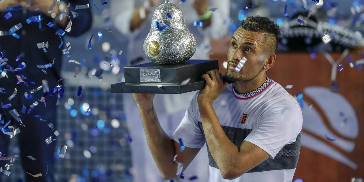 Nick Kyrgios es campeón del Abierto Mexicano
