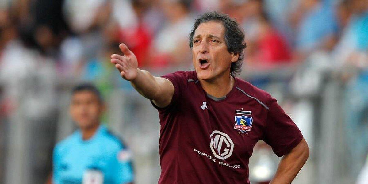 """Mario Salas y el relajo de Colo Colo en la victoria ante Curicó: """"Estas situaciones son oportunidades para mejorar"""""""