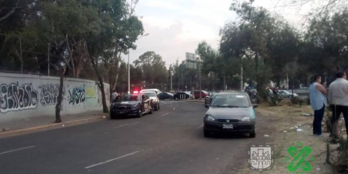 Volcadura de microbús en San Juan de Aragón deja 14 heridos