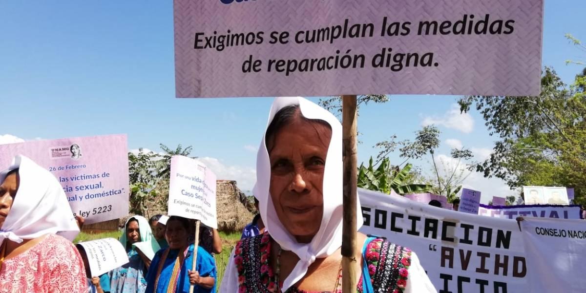 La esperanza de Sepur Zarco está en 11 mujeres maya q'echi'