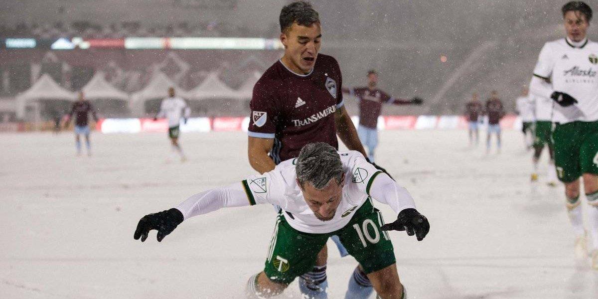 ¡Sorprendente! El partido de futbol más frío en la historia de la MLS
