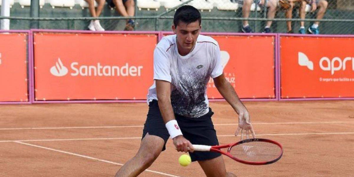Los tenistas chilenos tienen duros rivales para el Challenger de Santiago