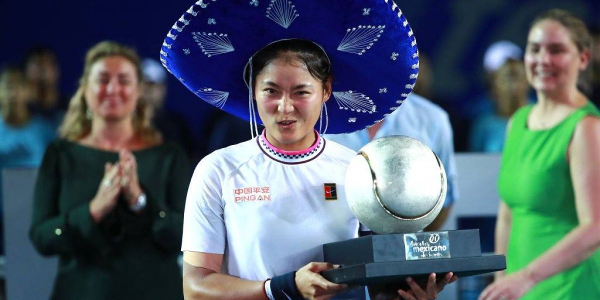 Yafan Wang se proclama campeona del Abierto Mexicano