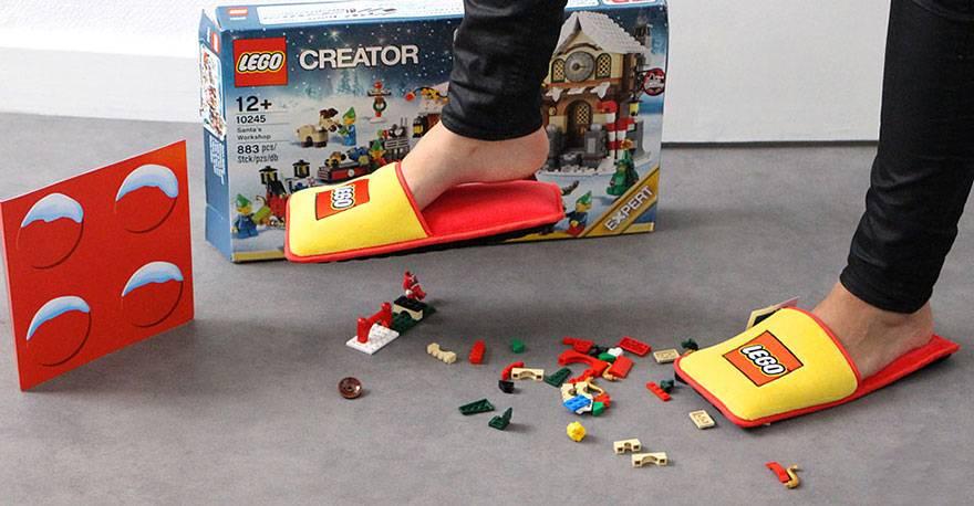 LEGO pantuflas