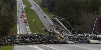 Imágenes de la devastación en Alabama, Estados Unidos