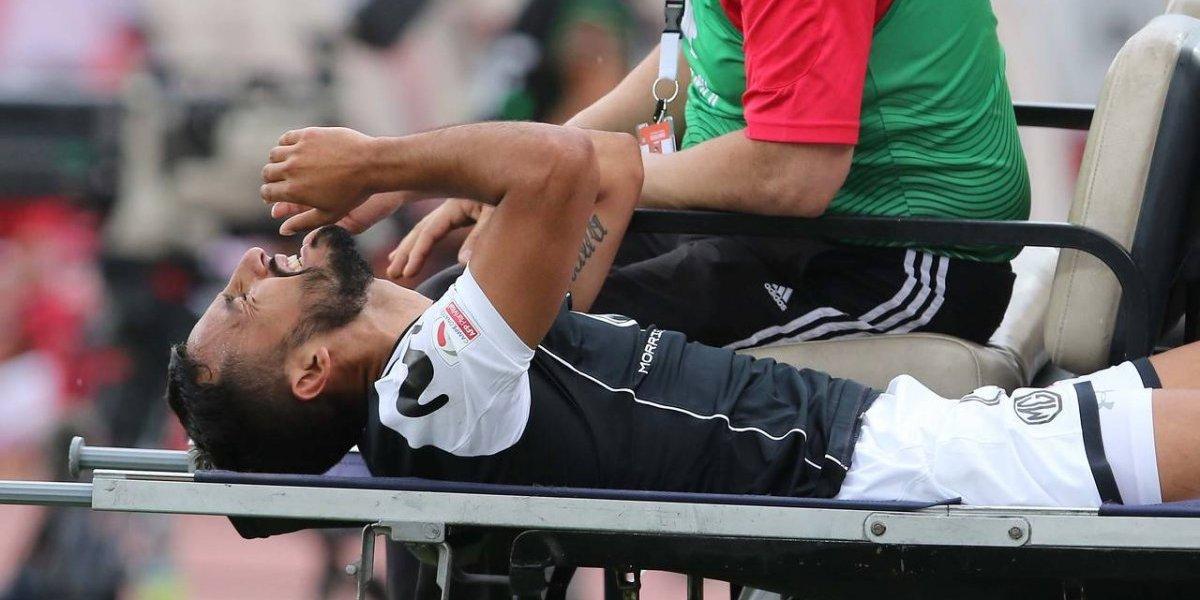 Colo Colo también sufre: Ronald de la Fuente estará fuera de las canchas por dos meses