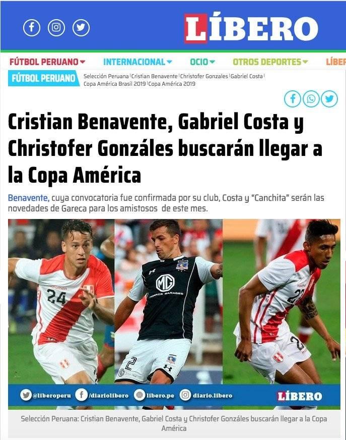 Líbero, diario peruano