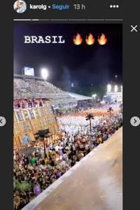 Karol G festeja a lo grande el Carnaval de Rio sin Anuel AA