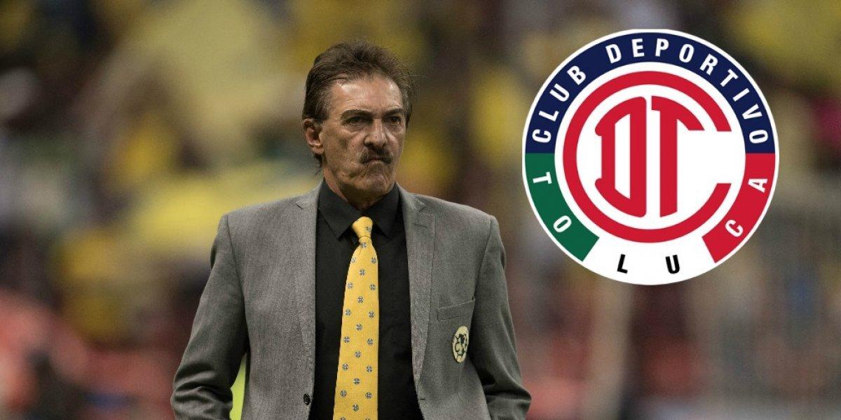 ¡OFICIAL! Ricardo La Volpe es nombrado nuevo DT del Toluca