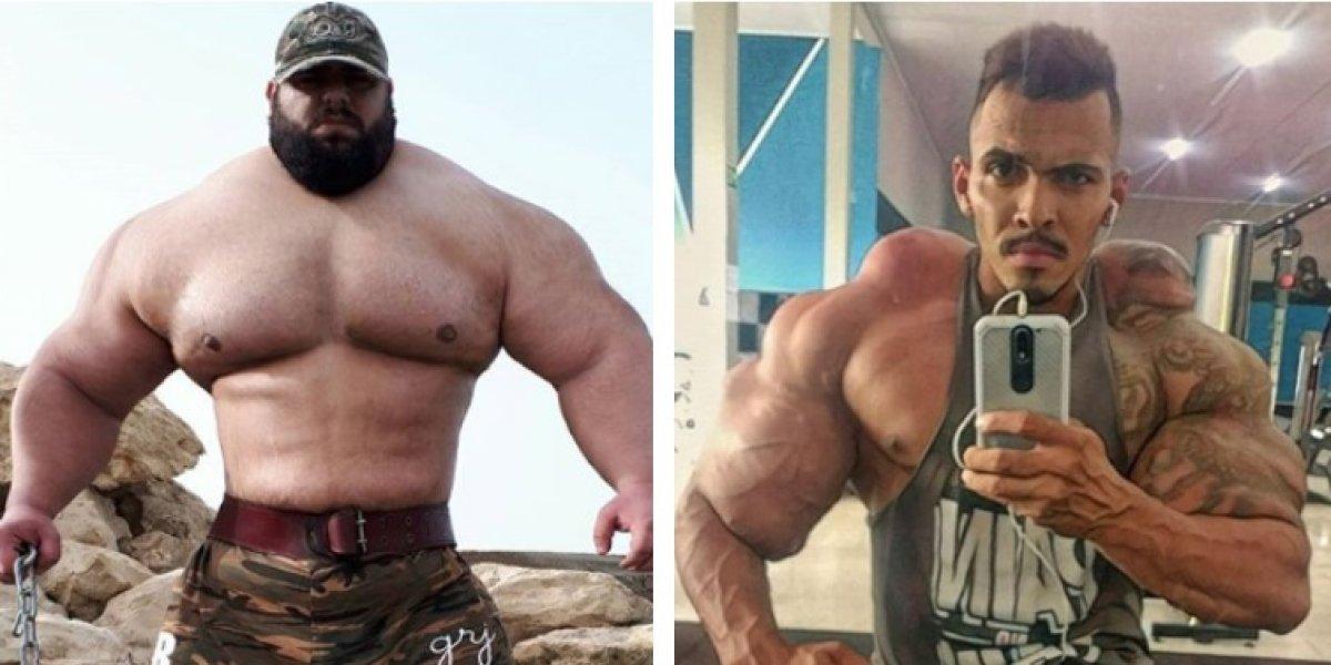 """El Hulk brasileño reta al Hulk iraní a una batalla """"a muerte"""": """"Voy a arrancarle la cabeza"""""""