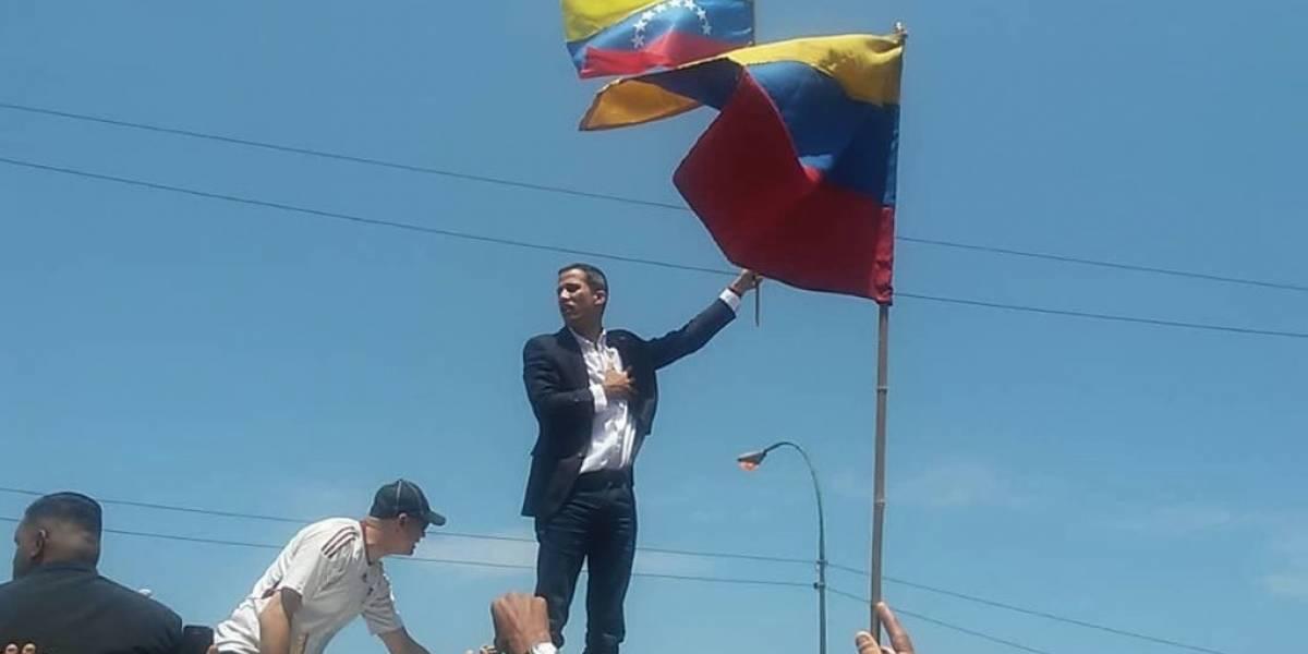 Guaidó a su llegada a Venezuela: reitera llamado a las Fuerzas Armadas e insiste en movilizaciones