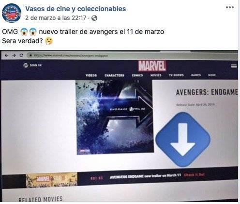 Captura de pantalla Avengers:Endgame