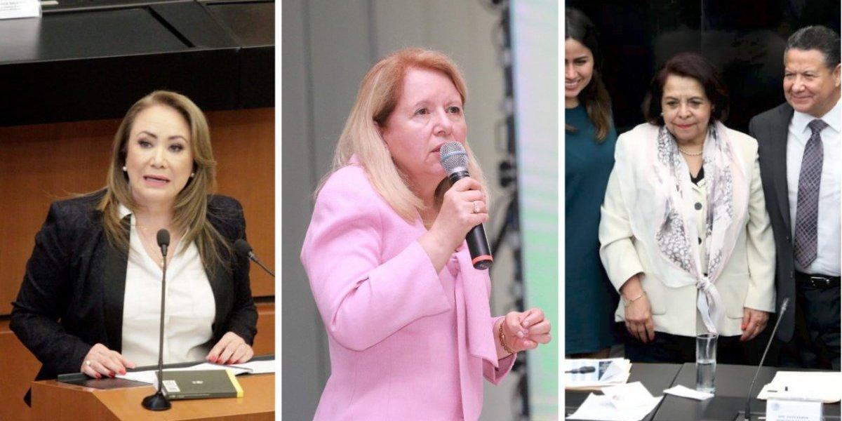 #Política Confidencial candidatas a la SCJN disgustan a la oposición