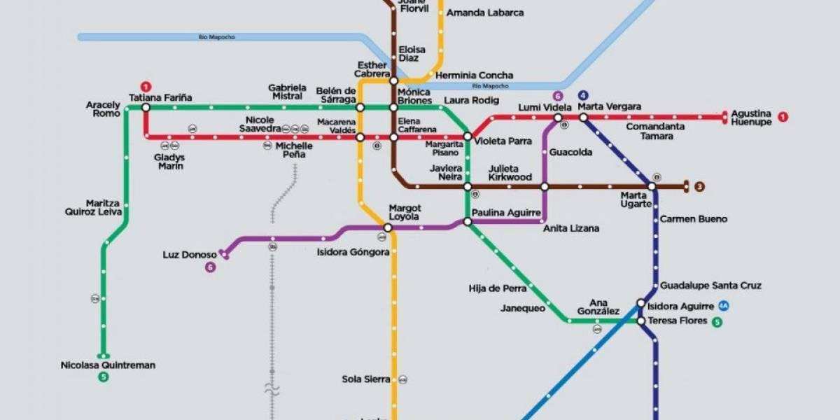 8M: ¿Quiénes son las protagonistas del cambio de nombre simbólico del Metro?