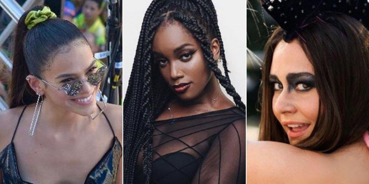 Carnaval 2019: Oito looks provam que o preto foi a cor favorita das famosas