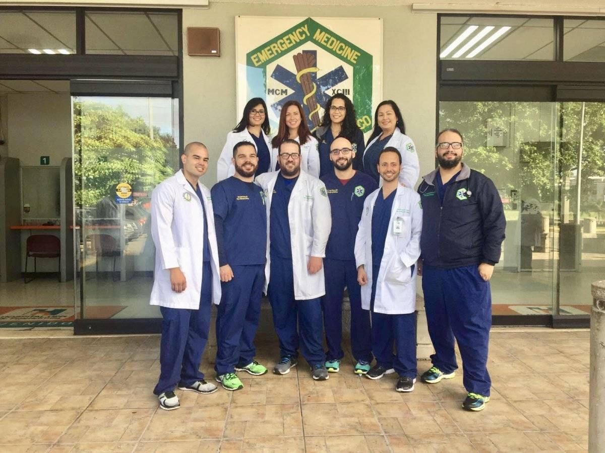 El 100 % de la clase graduanda 2018 del Departamento de Medicina de Emergencia, aprobó la certificación del American Board of Emergency Medicine. / Suministrada