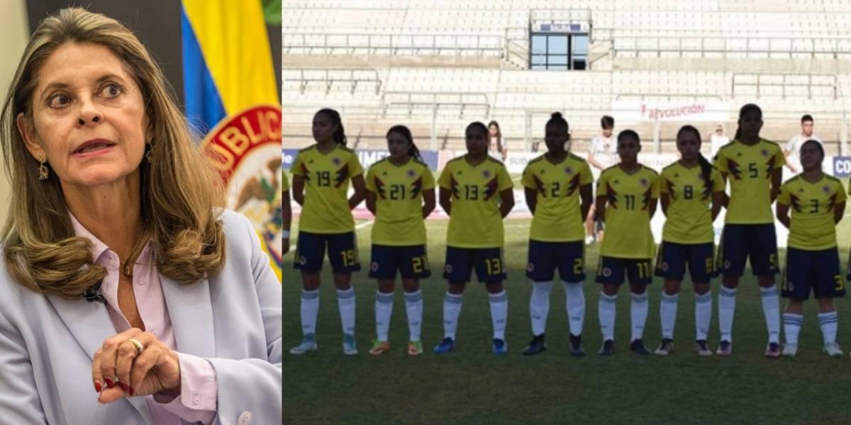 Marta Lucía Ramírez convocó reunión por denuncias de acoso a jugadoras de la Selección Sub-17