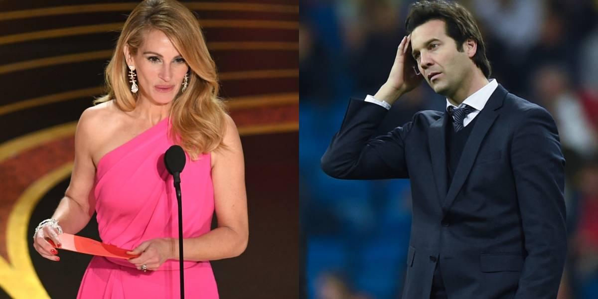 Lluvia de críticas a Santiago Solari por comparar al Real Madrid con Julia Roberts