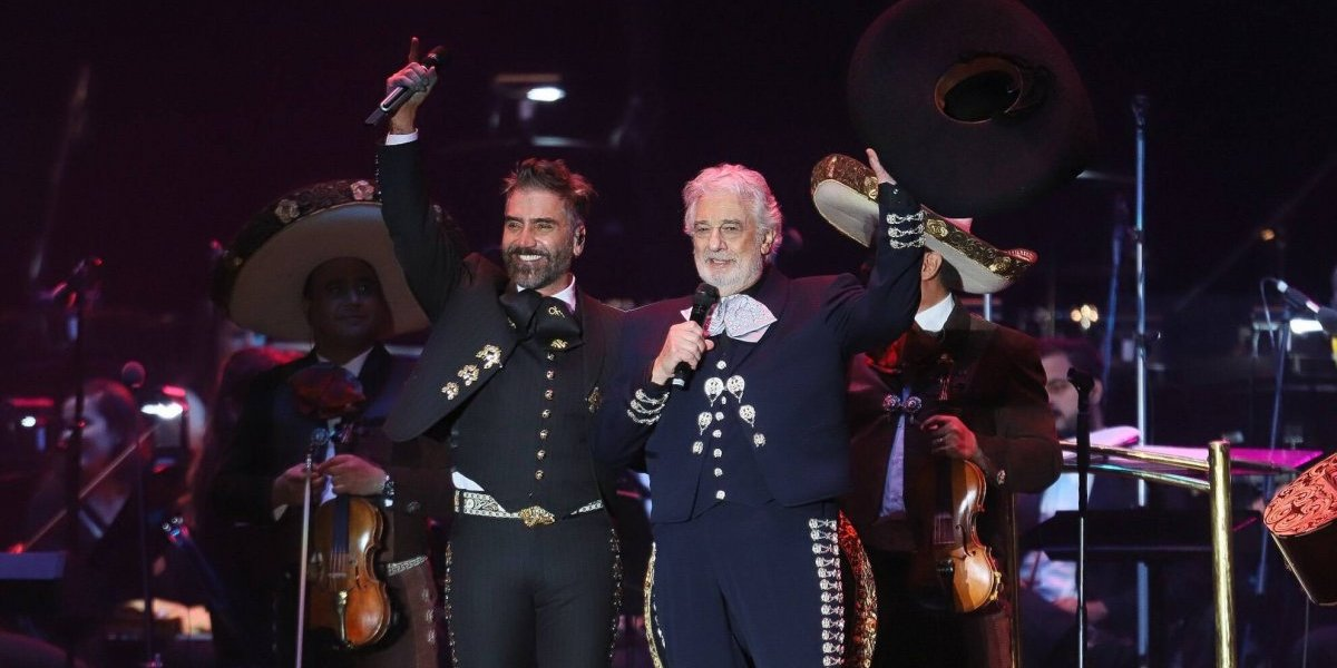 Plácido Domingo y Alejandro Fernández celebraron el poder de la música