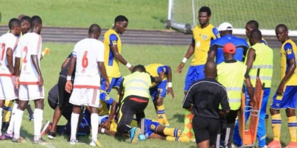 VIDEO: Futbolista gabonés muere tras sufrir un colapso en pleno partido