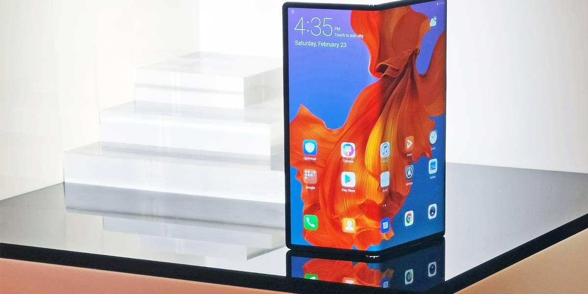 Aunque se venda en México el Huawei Mate X no soportará redes 5G