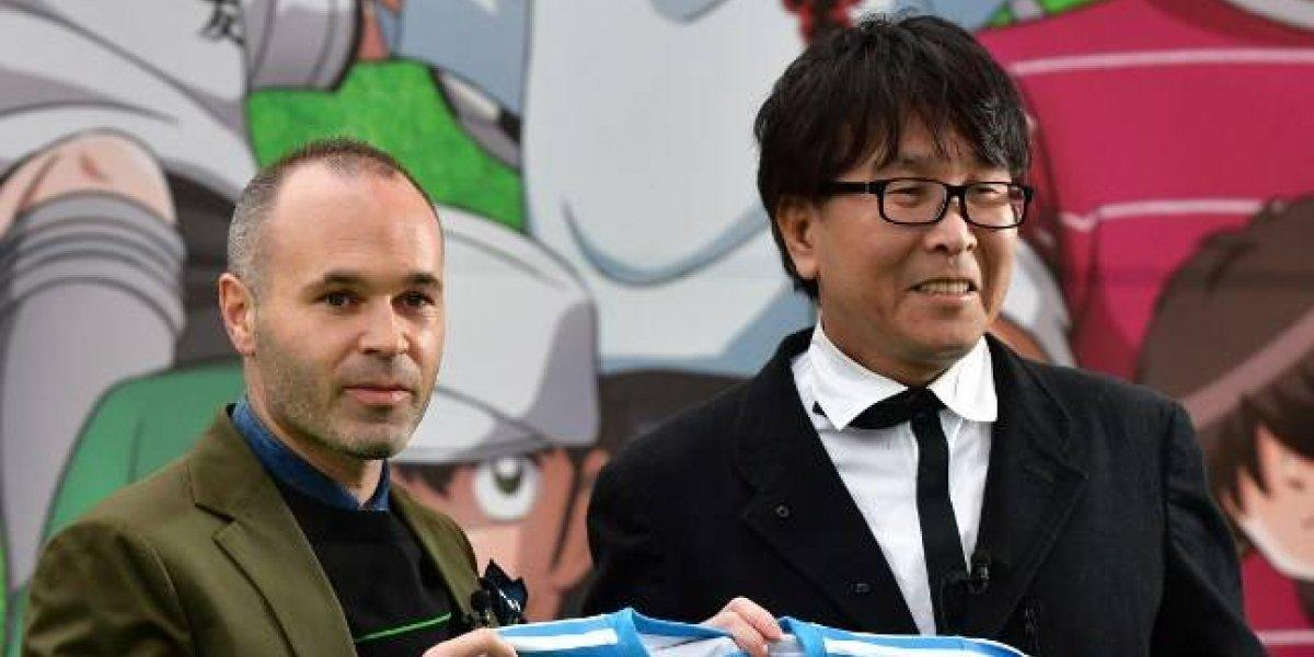 """Futbolista campeón del mundo """"convive"""" con Oliver Atom y los Supercampeones en Tokio"""