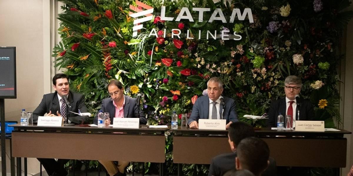 Latam Airlines anunció su plan de expansión en Colombia